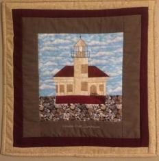Coquille Lighthouse Wall Hanging